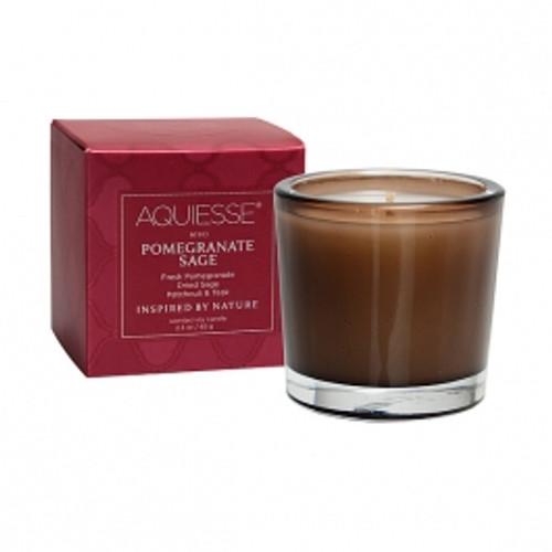 Aquiesse Portfolio Collection Pomegranate Sage Votive Candle