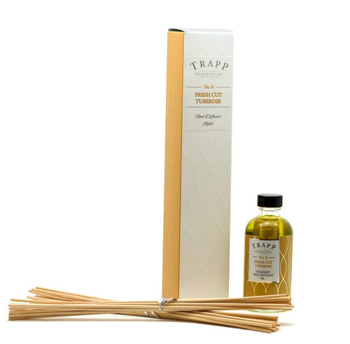Trapp Fragrances Fresh Cut Tuberose Reed Diffuser Refill