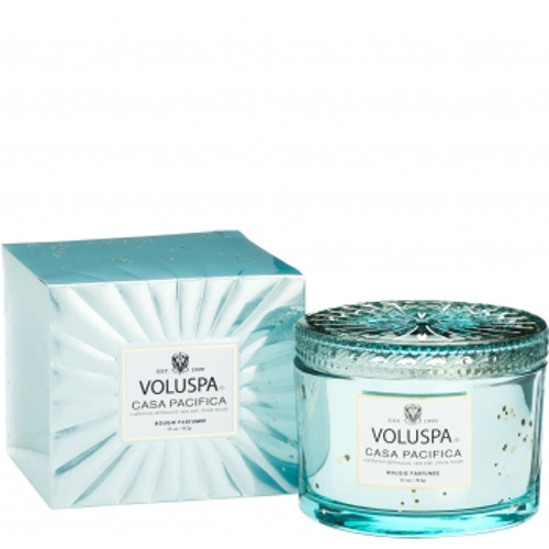 Voluspa Vermeil Collection Casa Pacifica Boxed Candle