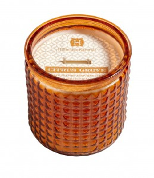 Hillhouse Naturals Citrus Grove Glass Candle