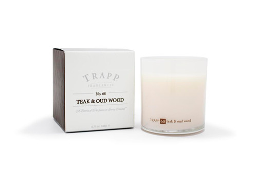 Trapp Candles No. 68 Teak & Oud Wood - 8.75 oz. Poured Candle