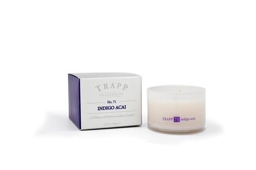 Trapp Candles Ambience Collection No. 71 Indigo Acai - 3.75 oz. Poured Candle