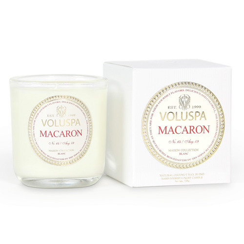 Voluspa Maison Blanc Collection Macaron Votive Candle