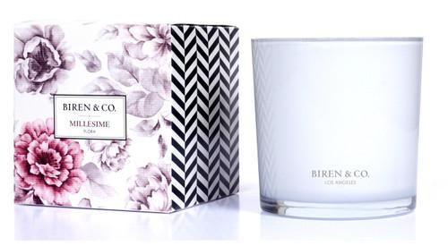 Biren & Co Millesime Boxed Candle Flora Collection