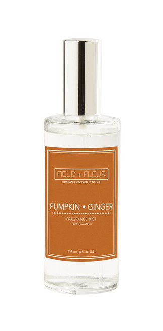 Hillhouse Naturals Field & Fleur Pumpkin Ginger Fragrance Mist Holiday