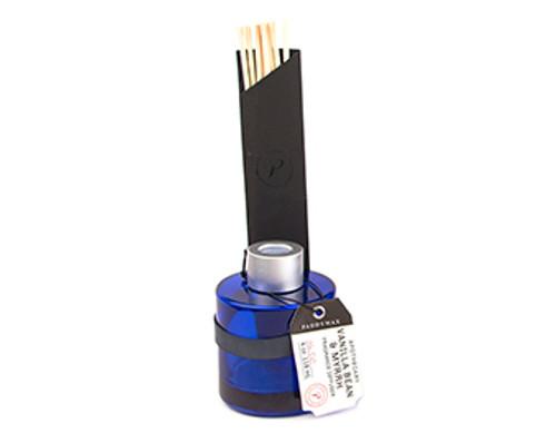 Paddywax Vanilla Bean & Myrrh Blue Apothecary Diffuser