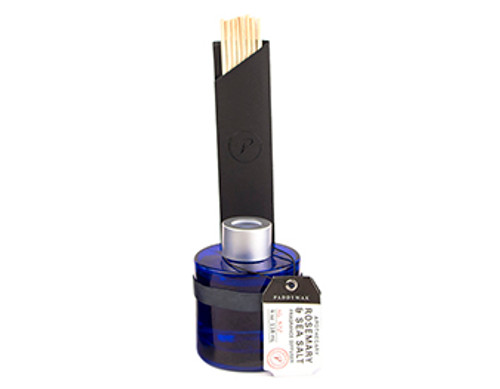 Paddywax Rosemary & Sea Salt Blue Apothecary Diffuser