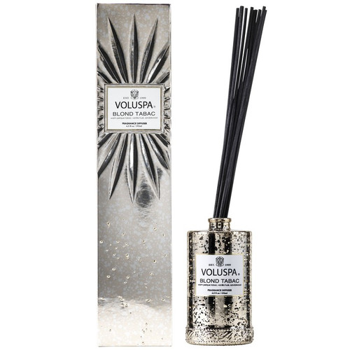 Voluspa Vermeil Collection Blond Tabac Reed Diffuser