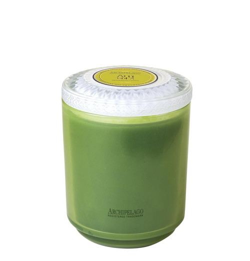 Archipelago Couleur Collection Arugula Glass Candle