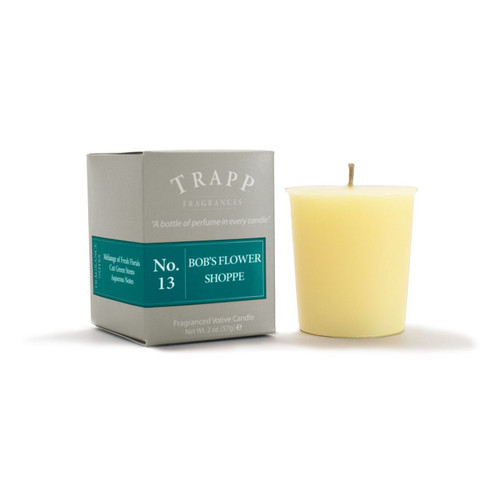 No. 13 Trapp Candle Bob's Flower Shoppe - 2oz. Votive Candle