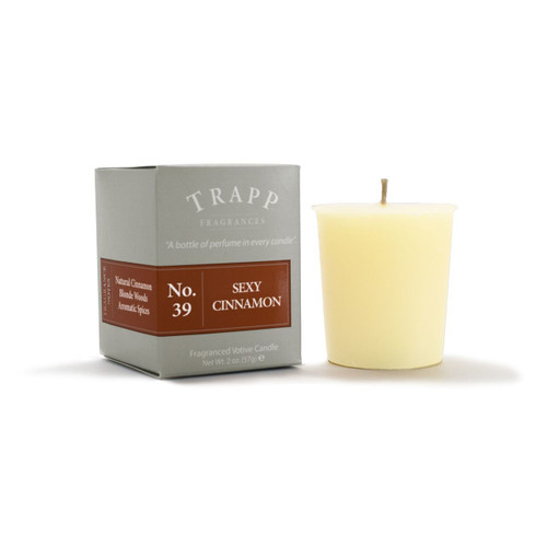 No. 39 Trapp Candle Sexy Cinnamon - 2oz. Votive Candle
