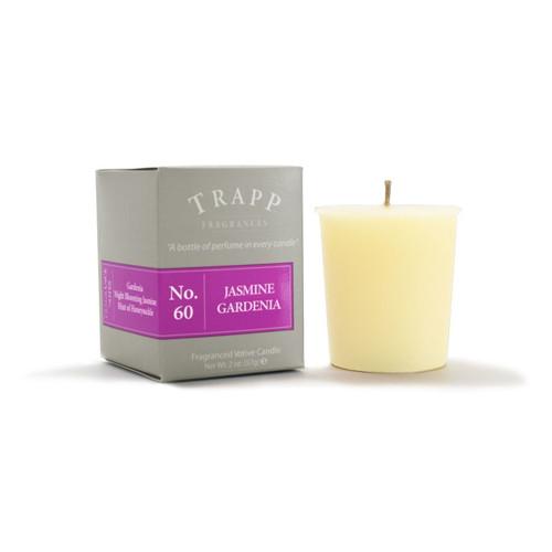 No. 60 Trapp Candle Jasmine Gardenia - 2oz. Votive Candle
