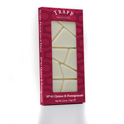 No. 61 Trapp Quince & Pomegranate - 2.6 oz. Home Fragrance Melts