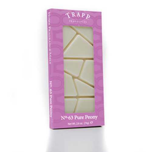 No. 63 Trapp Pure Peony - 2.6 oz. Home Fragrance Melts