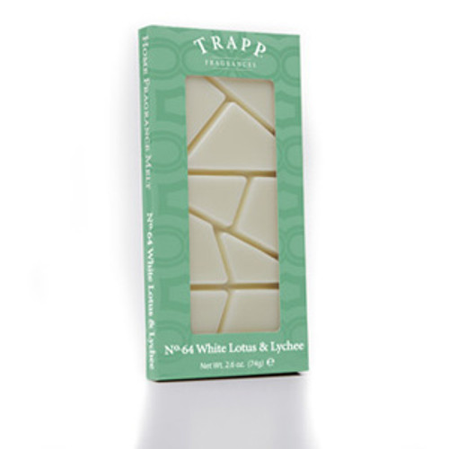 No. 64 Trapp White Lotus & Lychee - 2.6 oz. Home Fragrance Melts