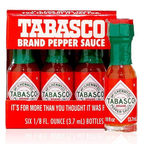 Tabasco Brand Mini Pepper Sauce 6 Pack The Gourmet
