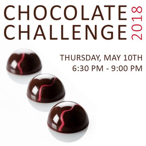 CHOCOLATE CHALLENGE 2018 - THUR, MAY 10