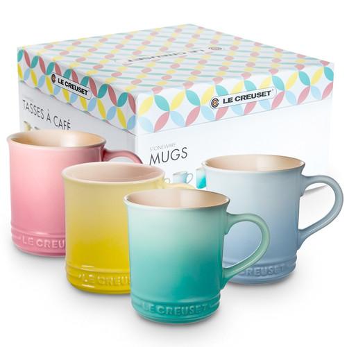 Mug Gift Set - Spring Edition Colours, Set of 4