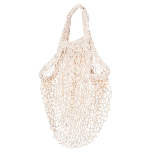 Crochet String Grocery Bag - Cotton, Cream