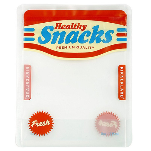 Snack Small Zipper Bags - Healthy Snacks, Set of 4