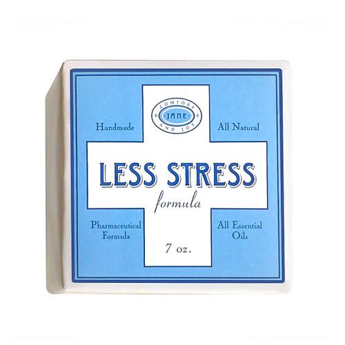 Effervescent Cube Bath Bomb - Less Stress, 7oz