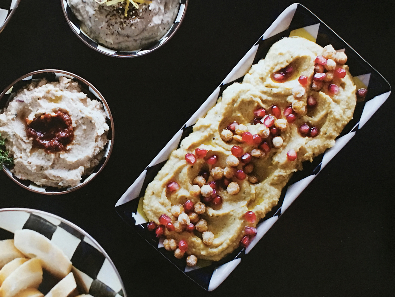 Spicy Hummus with Crispy Chickpeas