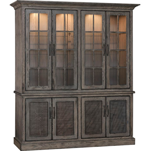 Baldwin 4-Door Hutch  sc 1 st  Affinity Furniture & Furnishings - Dining Room - Hutches - Page 1 - Affinity Furniture