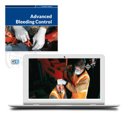Advanced Bleeding Control Blended Online Course Certification Card Student Manual