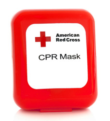 Red Cross CPR Mask (Hard Case)