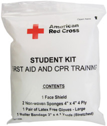 First Aid and CPR Combination Training Kit with No Splint (Pk/10)