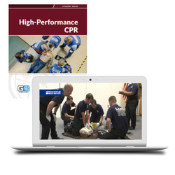 ASHI High Performance CPR Blended Online Course Certification Card Student Manual