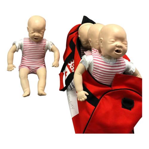 Used Laerdal Baby Annie Infant Manikin 4-Pack
