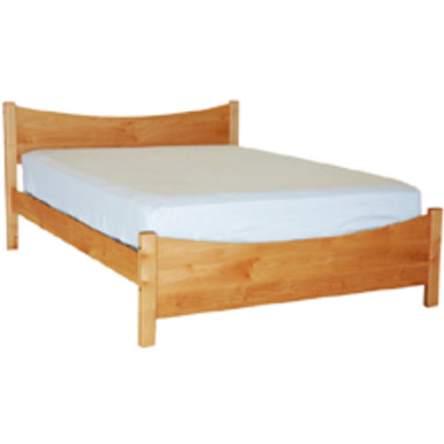 Pacific Rim Silhouette Bed Frame Maple Grace