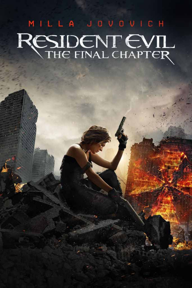 Resident Evil: The Final Chapter [UltraViolet HD or iTunes via Movies Anywhere]