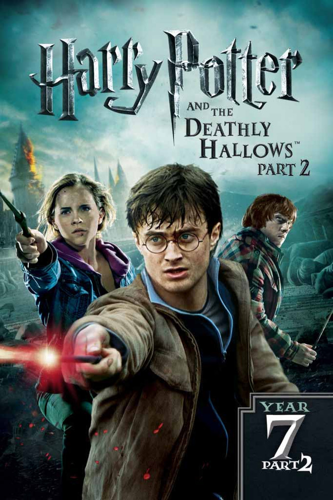 Harry Potter and the Deathly Hallows Part 2 [UltraViolet 4K or iTunes 4K via Movies Anywhere]