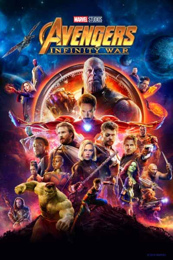 Avengers Infinity War [Vudu 4K] Pre Order Delivery August 3rd