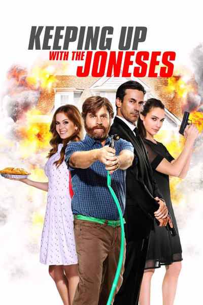 Keeping Up with the Joneses [UltraViolet HD or iTunes]