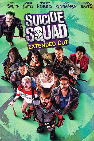 Suicide Squad (Extended Cut) [UltraViolet HD or iTunes via Movies Anywhere]
