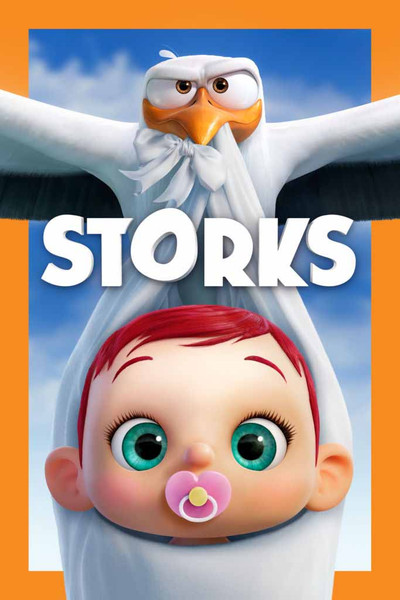 Storks  [UltraViolet HD or iTunes via Movies Anywhere]