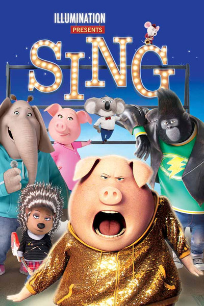Sing [UltraViolet 4K or iTunes 4K via Movies Anywhere]
