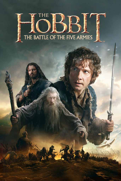 The Hobbit The Battle Of Five Armies [UltraViolet HD or iTunes via Movies Anywhere]