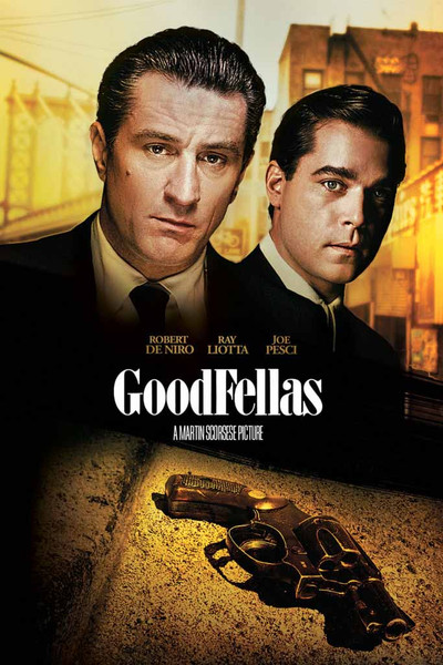 Goodfellas [UltraViolet HD or iTunes via Movies Anywhere]