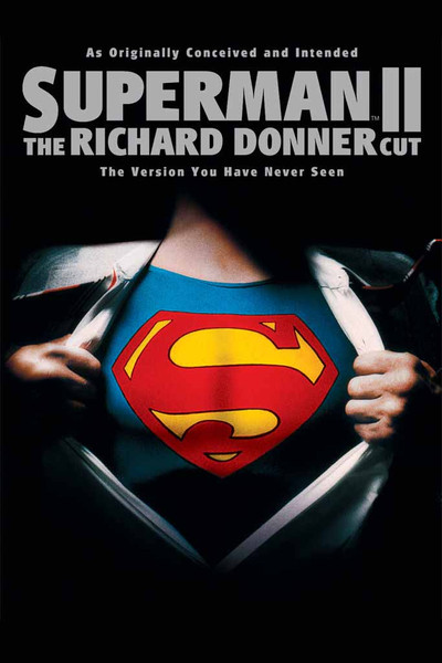 Superman II:  The Richard Donner Cut [UltraViolet HD or iTunes via Movies Anywhere]