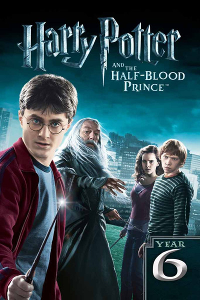 Harry Potter and the Half-Blood Prince [UltraViolet 4K or iTunes via Movies Anywhere]