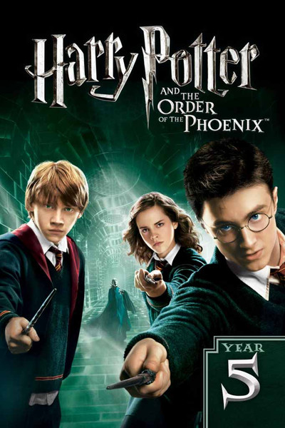 Harry Potter and the Order of the Phoenix [UltraViolet 4K or iTunes via Movies Anywhere]