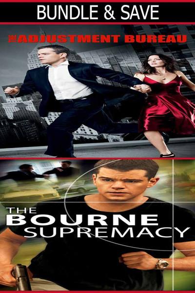 The Adjustment Bureau + The Bourne Supremacy