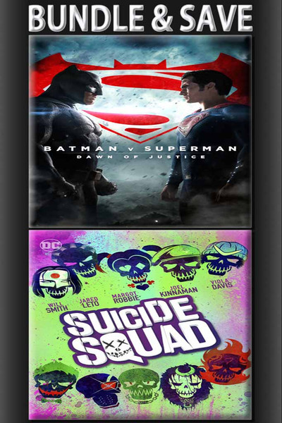 Bundle: Batman v. Superman + Suicide Squad