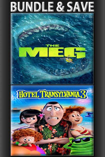 The Meg + Hotel Transylvania 3