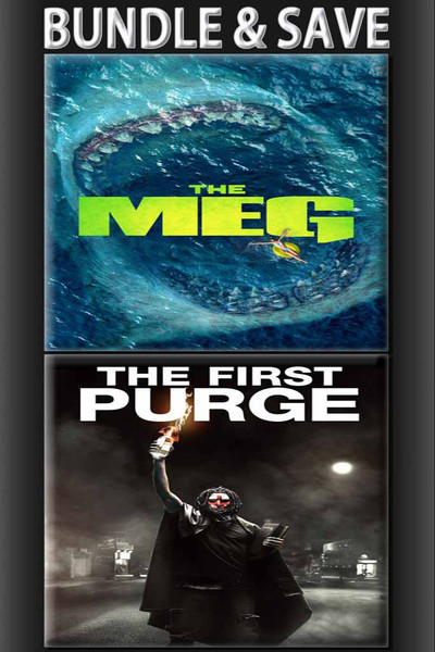 The Meg + The First Purge