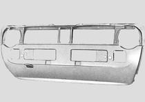 MK1 Radiator Support, Round Headlights